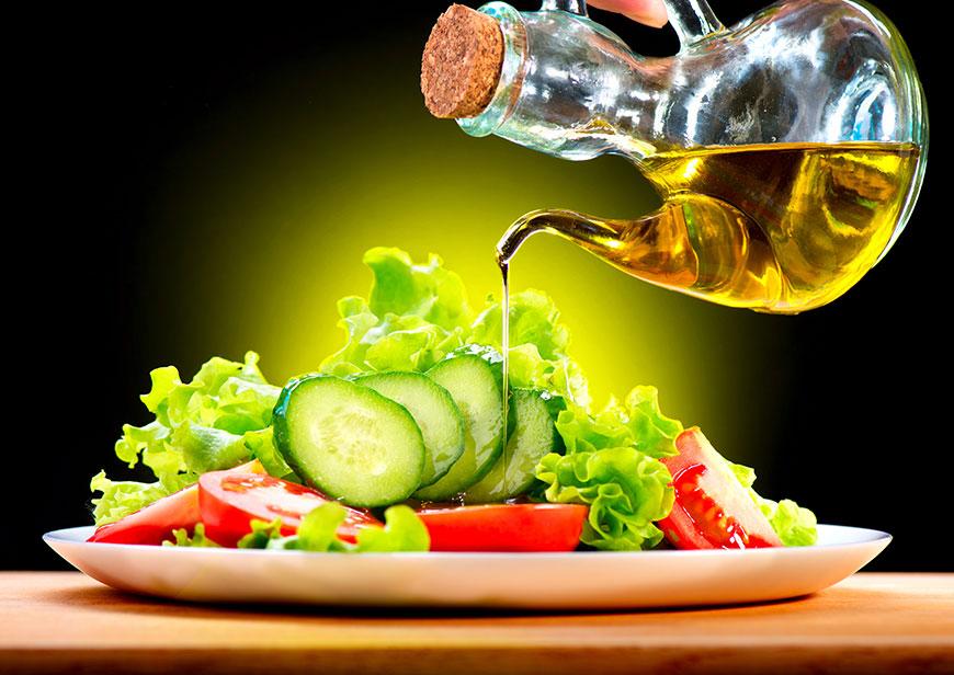 aceite de oliva en la dieta mediterranea