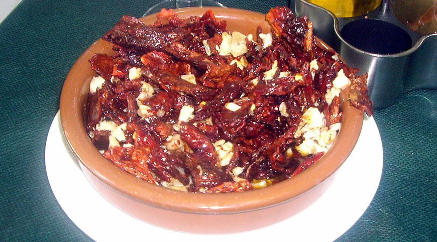 Pericana, plato típico de l'Alcoià i el Comtat
