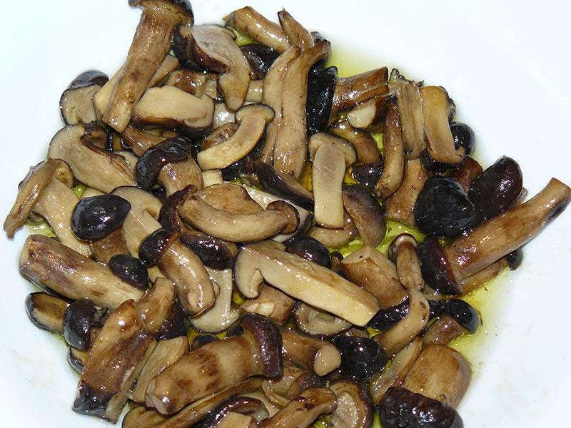 recetas bolets de chopo ajos